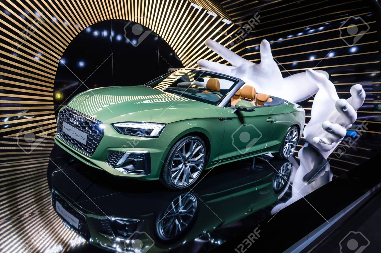 Frankfurt Sep 15 2019 New Audi A5 40 Tdi Quattro Cabriolet Stock Photo Picture And Royalty Free Image Image 133913625