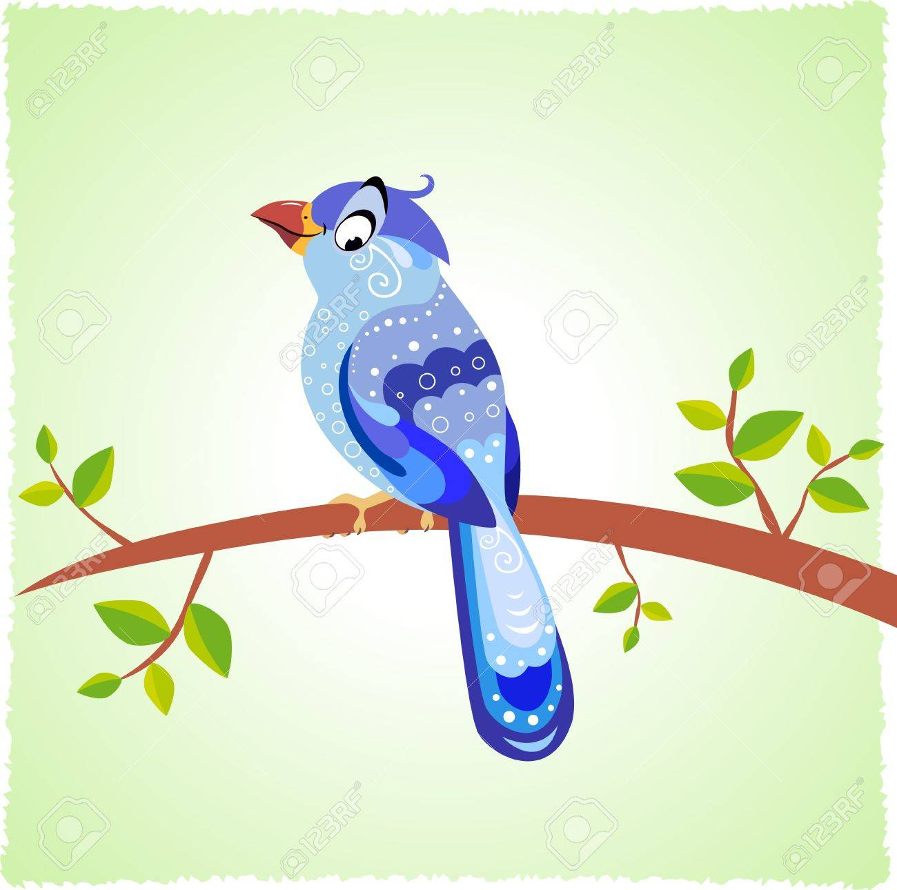 bird blue Stock Photo - 20842314