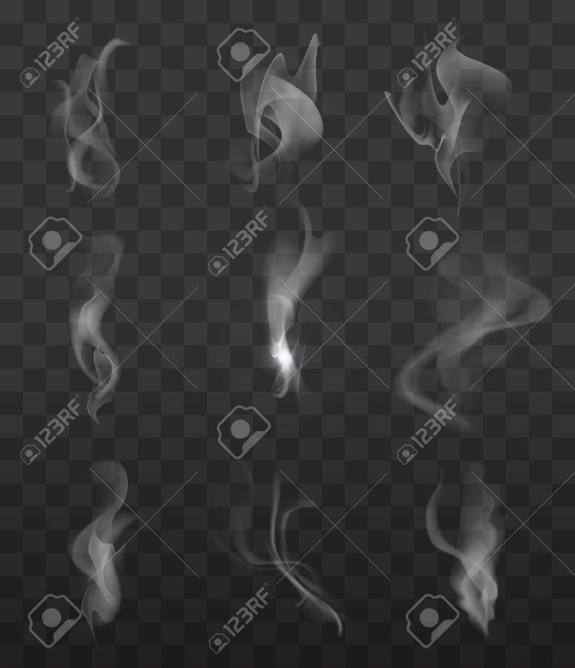 signes de fumée mis sur fond transparent pour le web et appareil mobile Banque d'images - 47035407