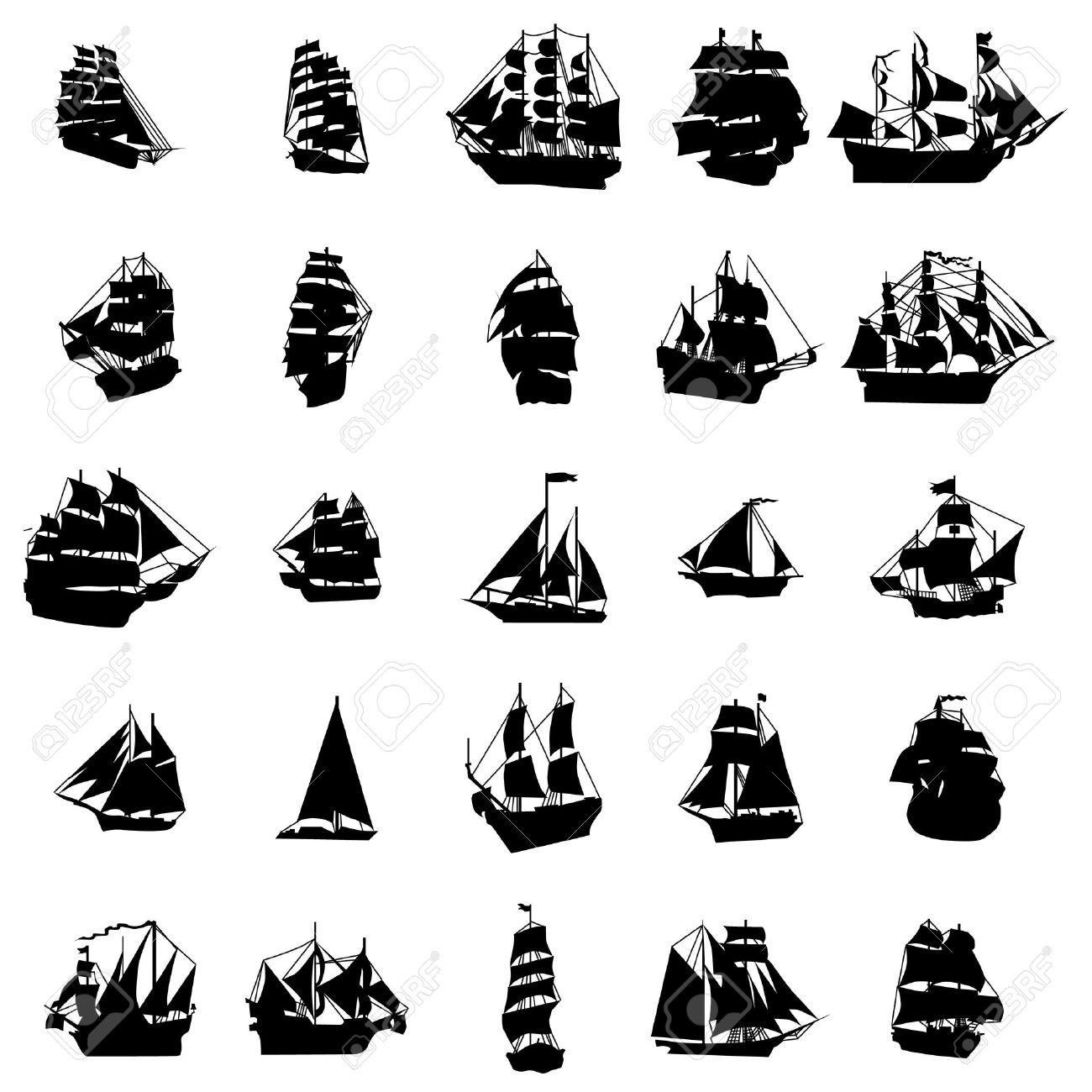 pirate ship silhouette stock photos royalty free pirate ship