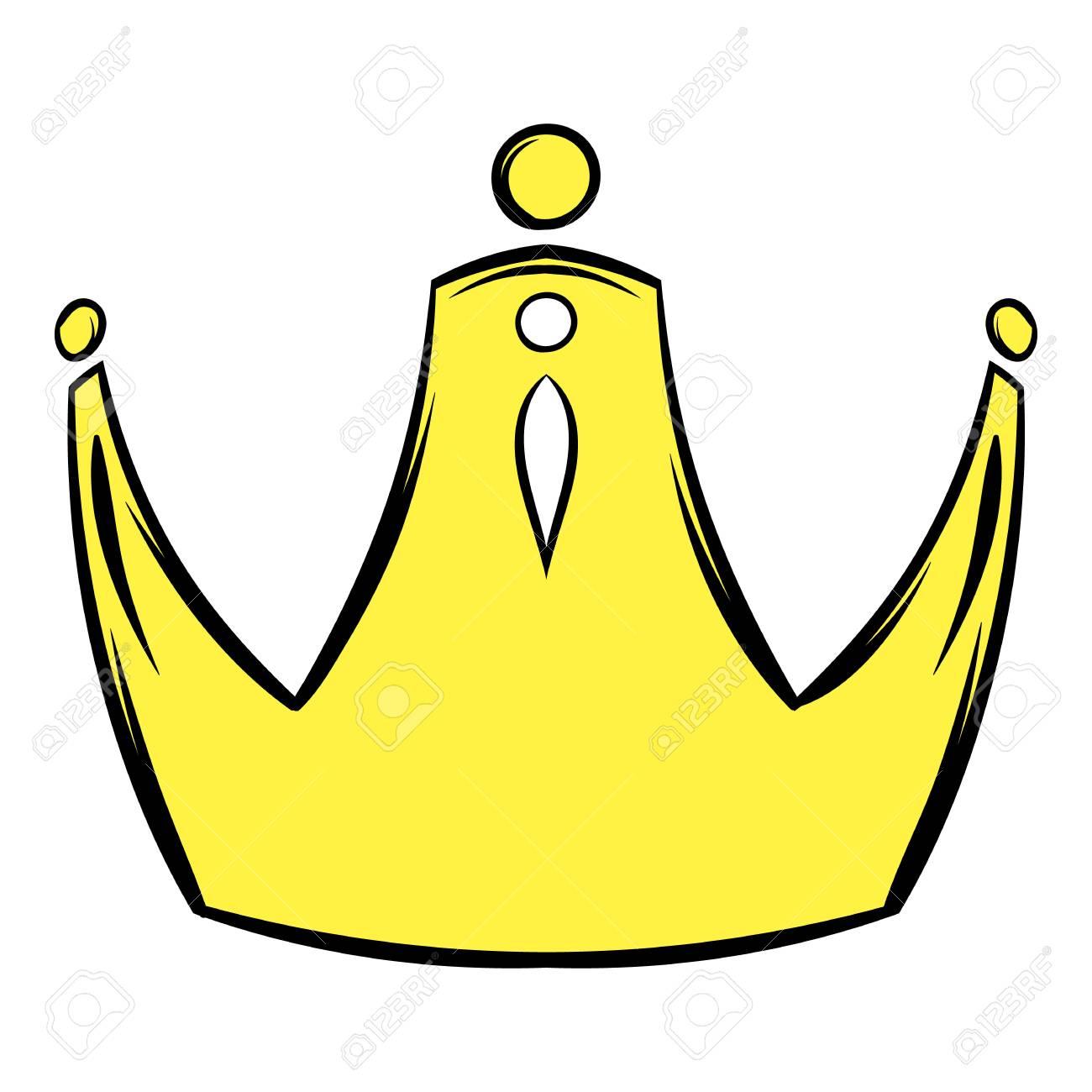 Golden Crown Icon Cartoon Royalty Free Cliparts Vectors And Stock Illustration Image 73501776 1000 x 780 jpeg 82 кб. 123rf com