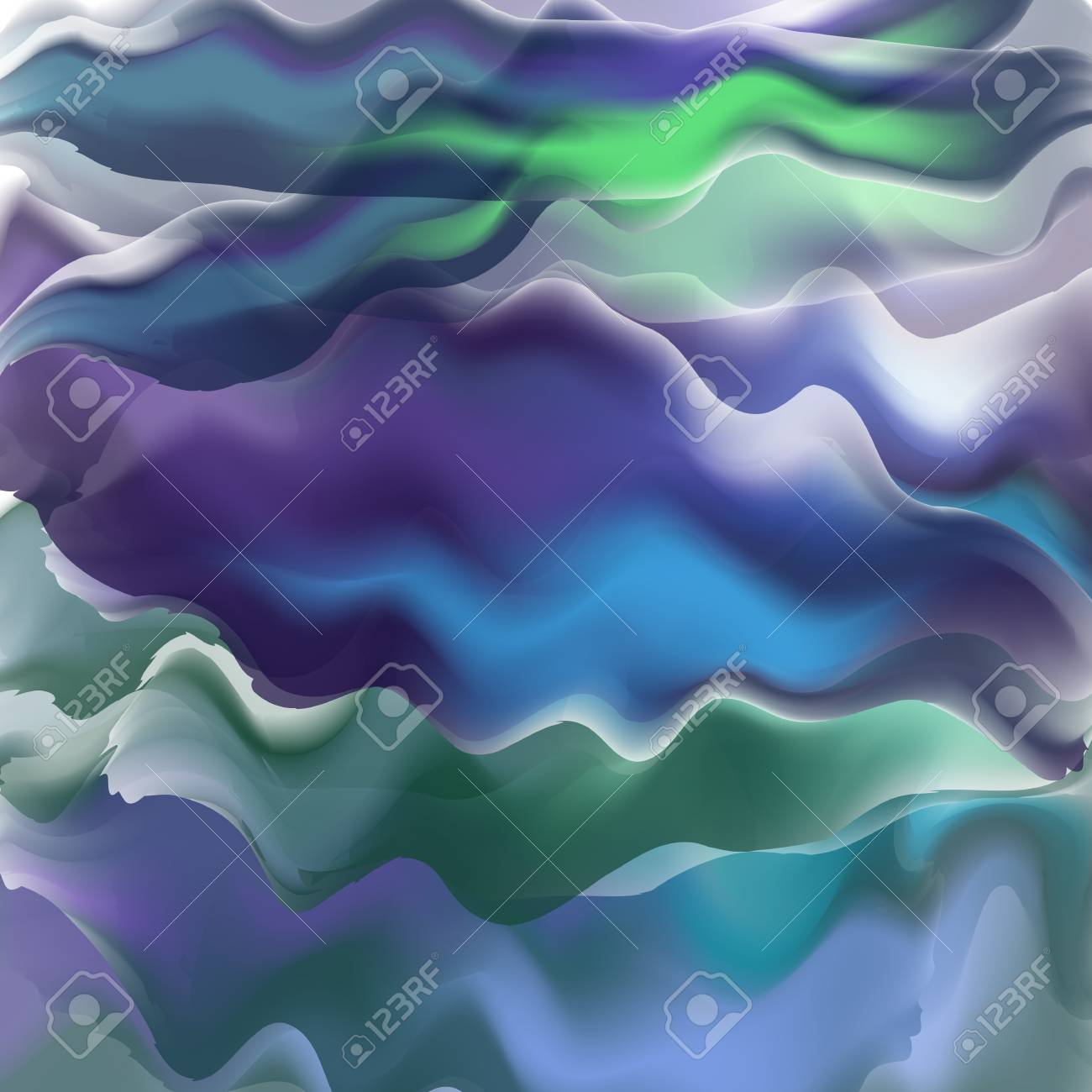 bright watercolor background smoke steam effect cover colourful