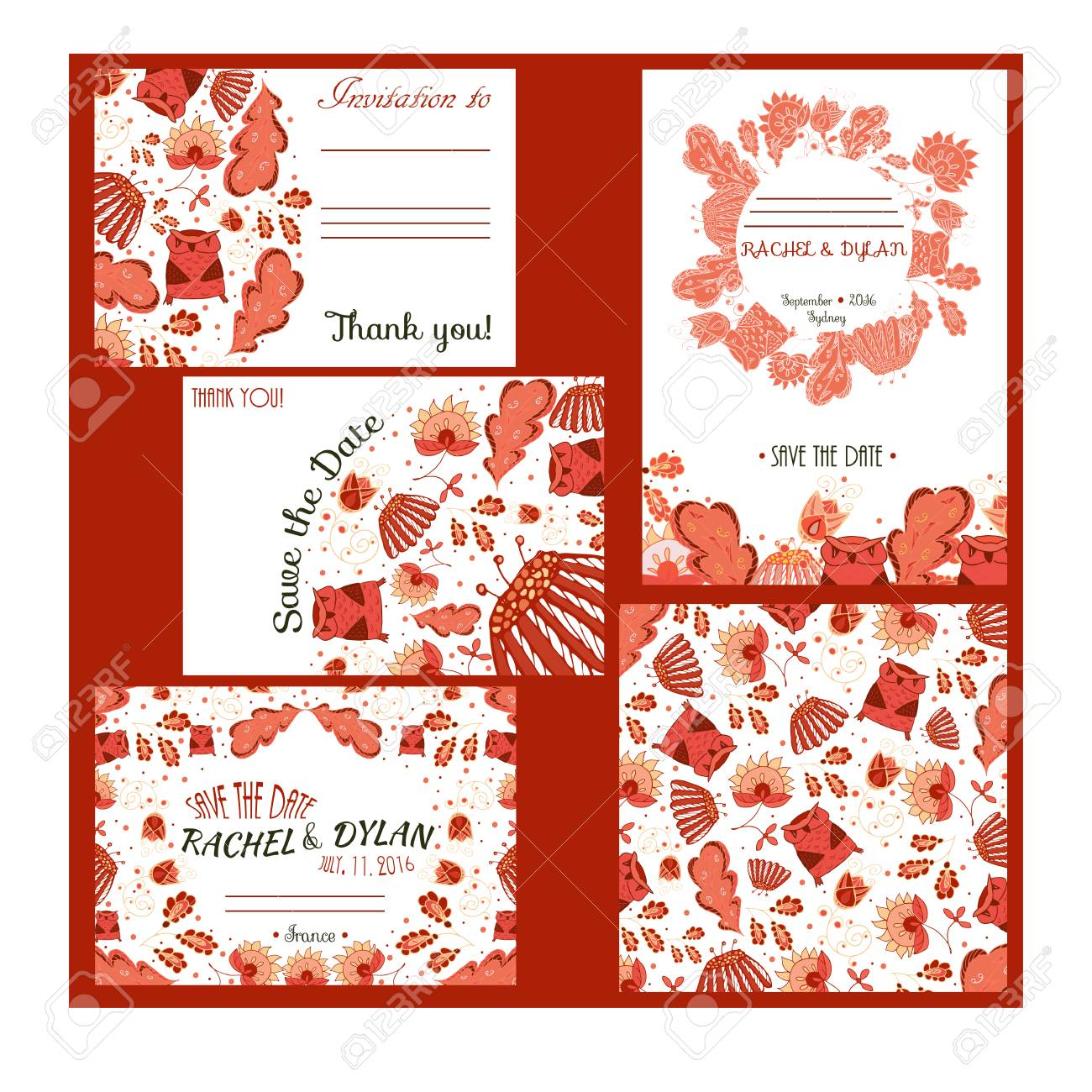 Save The Date Card. Invitation Card For Wedding, Party Or Date ...
