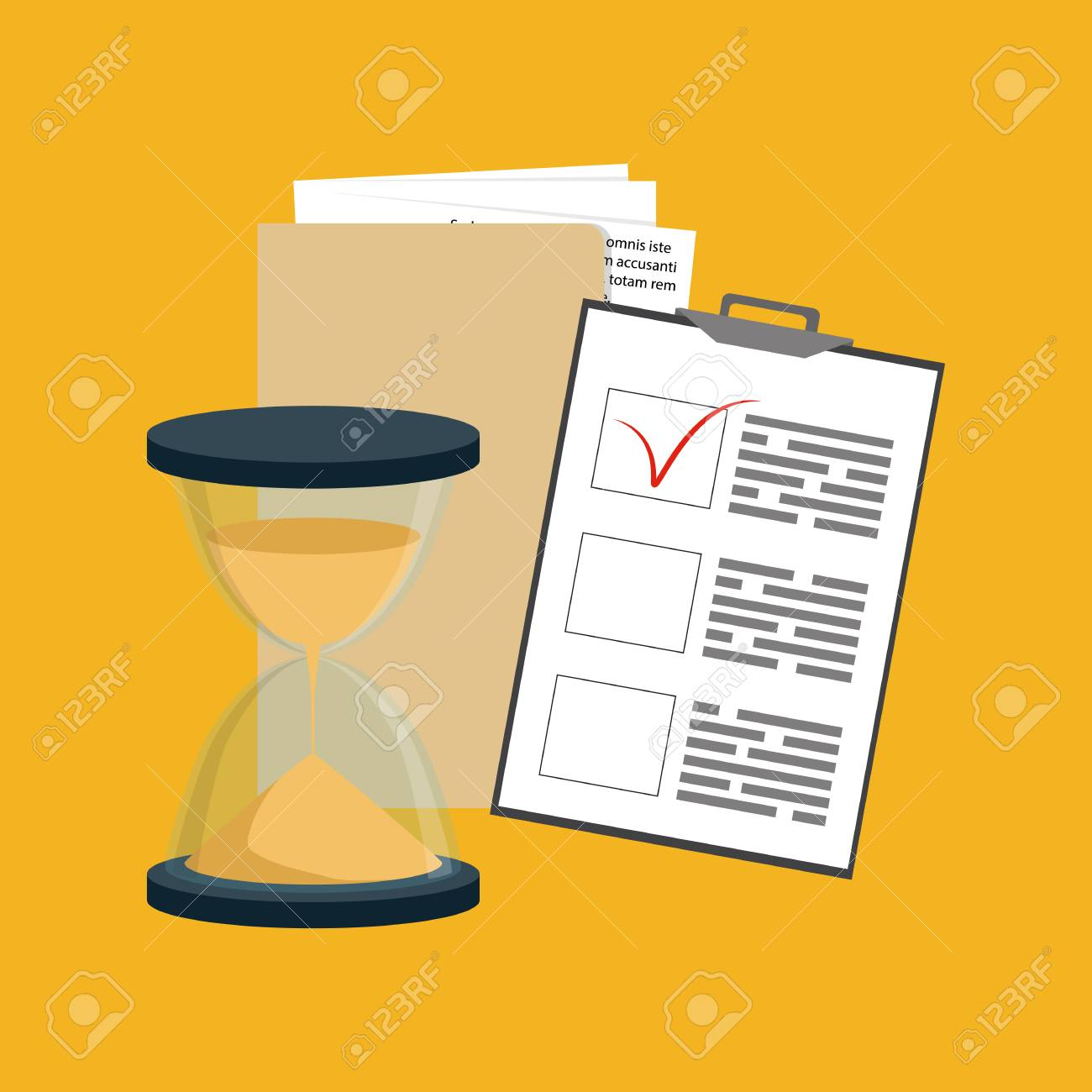 Contract Terms And Conditions Icon. Business Service Concept. Vector ...