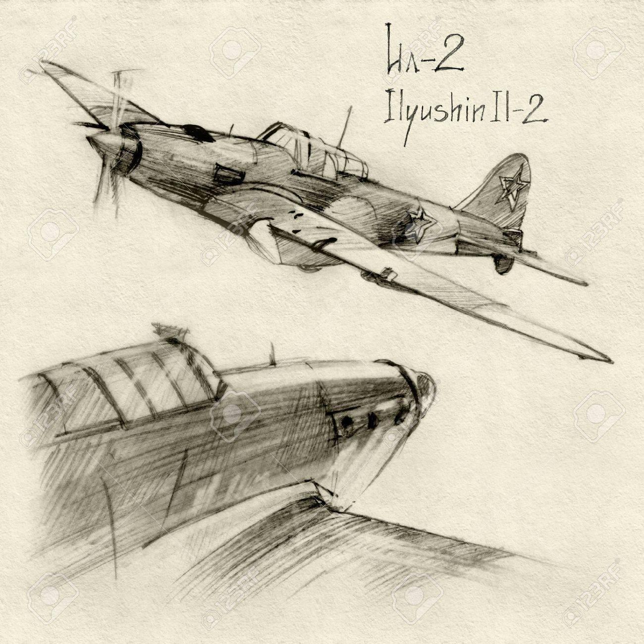 ソビエト軍 Enginery のシリーズ。イリューシン Il-2 第二次世界大戦の ...