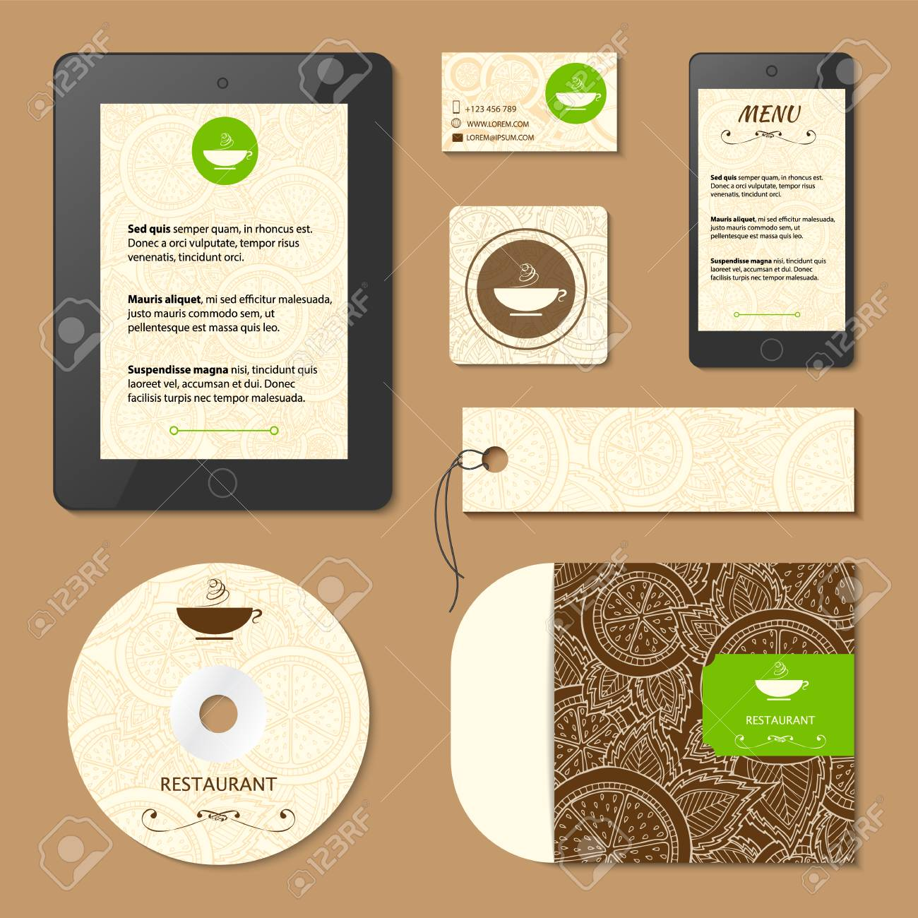 Corporate identity menu and business cards for cafe and restaurant menu and business cards for cafe and restaurant coffee and tea concept colourmoves