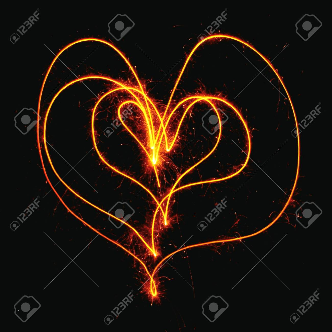 Abstract heart on Valentine Stock Photo - 11641349