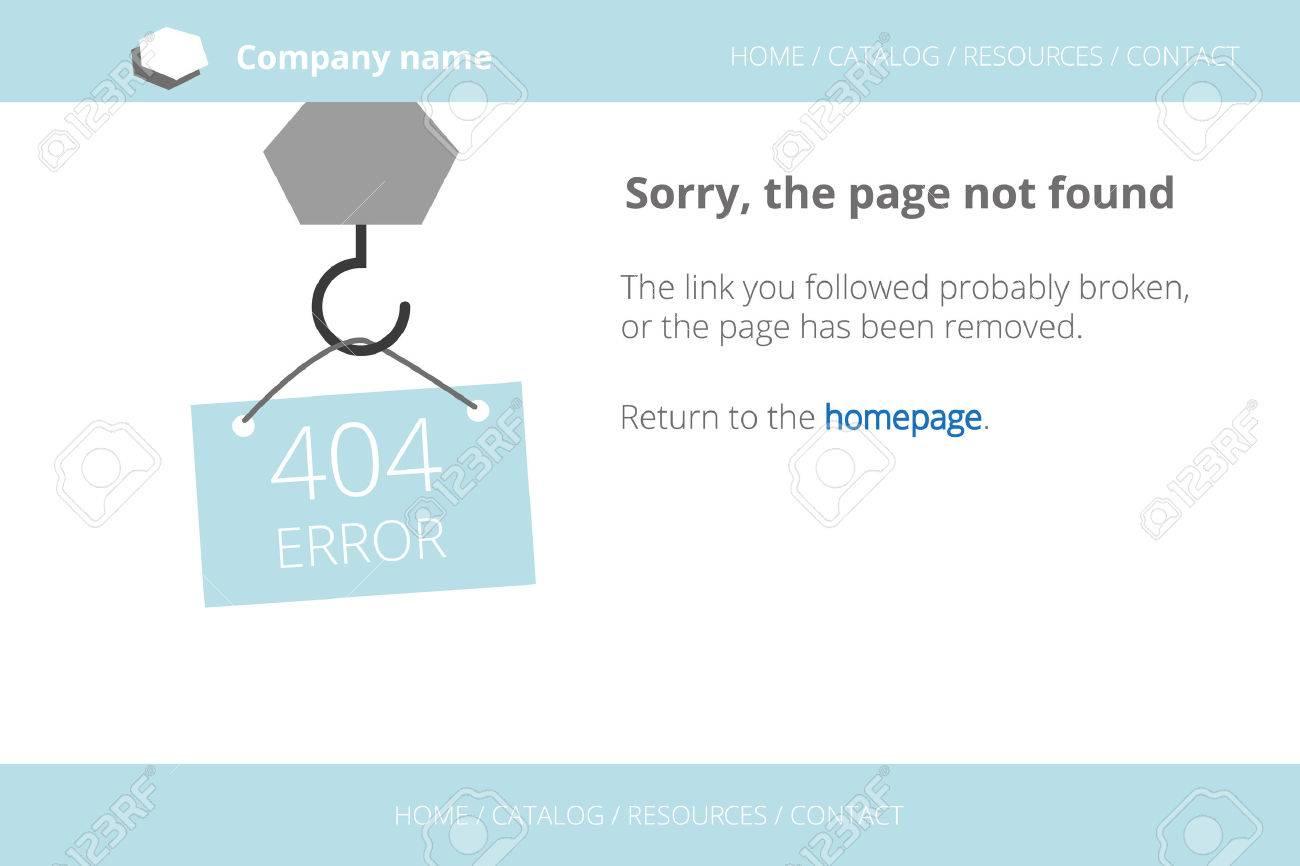 Tendant un message sur Page non trouvée Erreur 404. Texte décrit. Police gratuite occasion Ouvert Sans