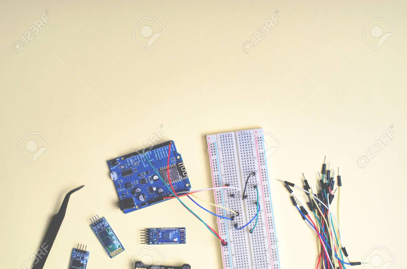 Electronic Components For Microcontrollers And Robotics Diy
