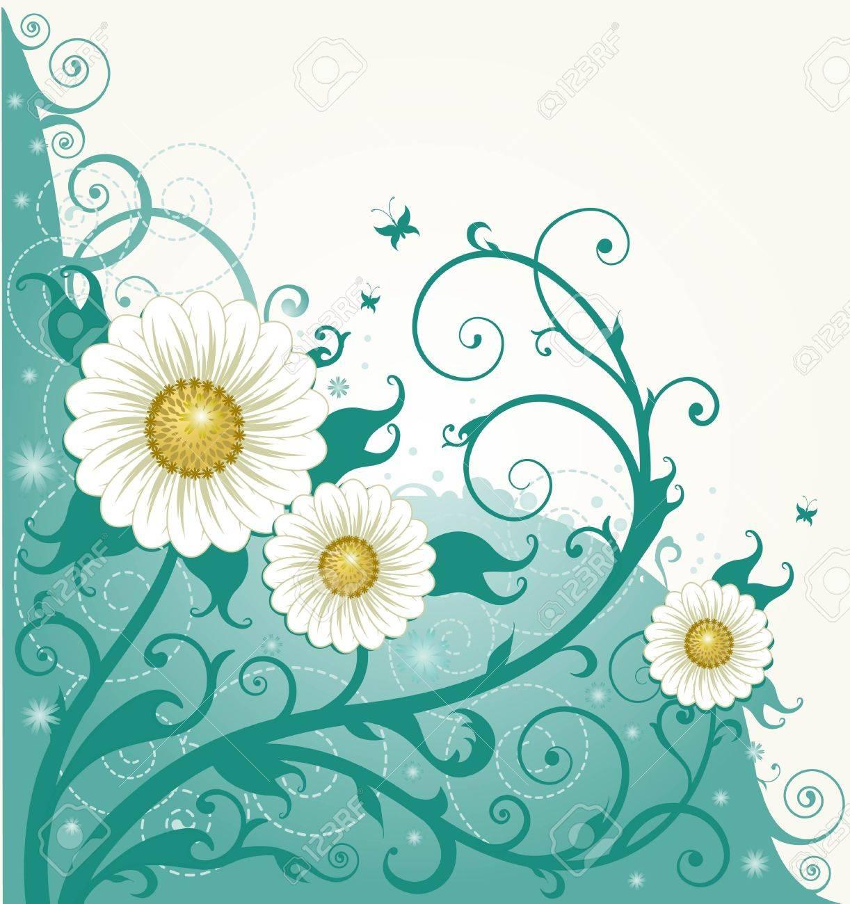 Flower background - 11655677