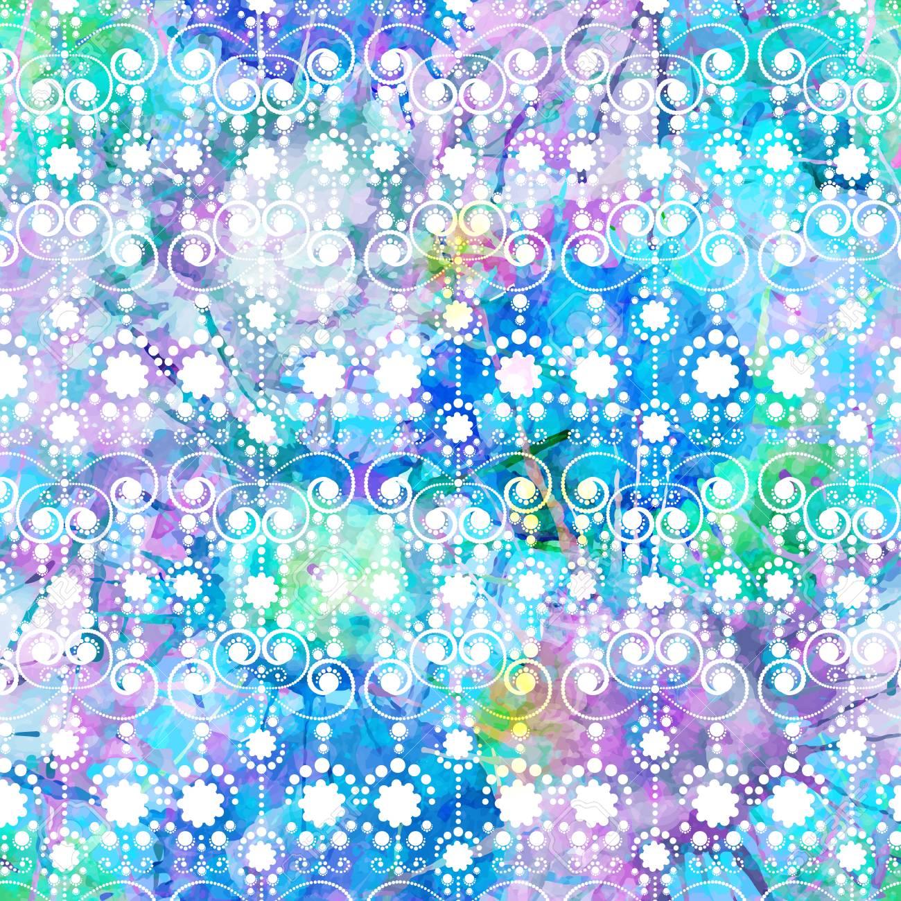 Seamless vintage pattern. - 52231661