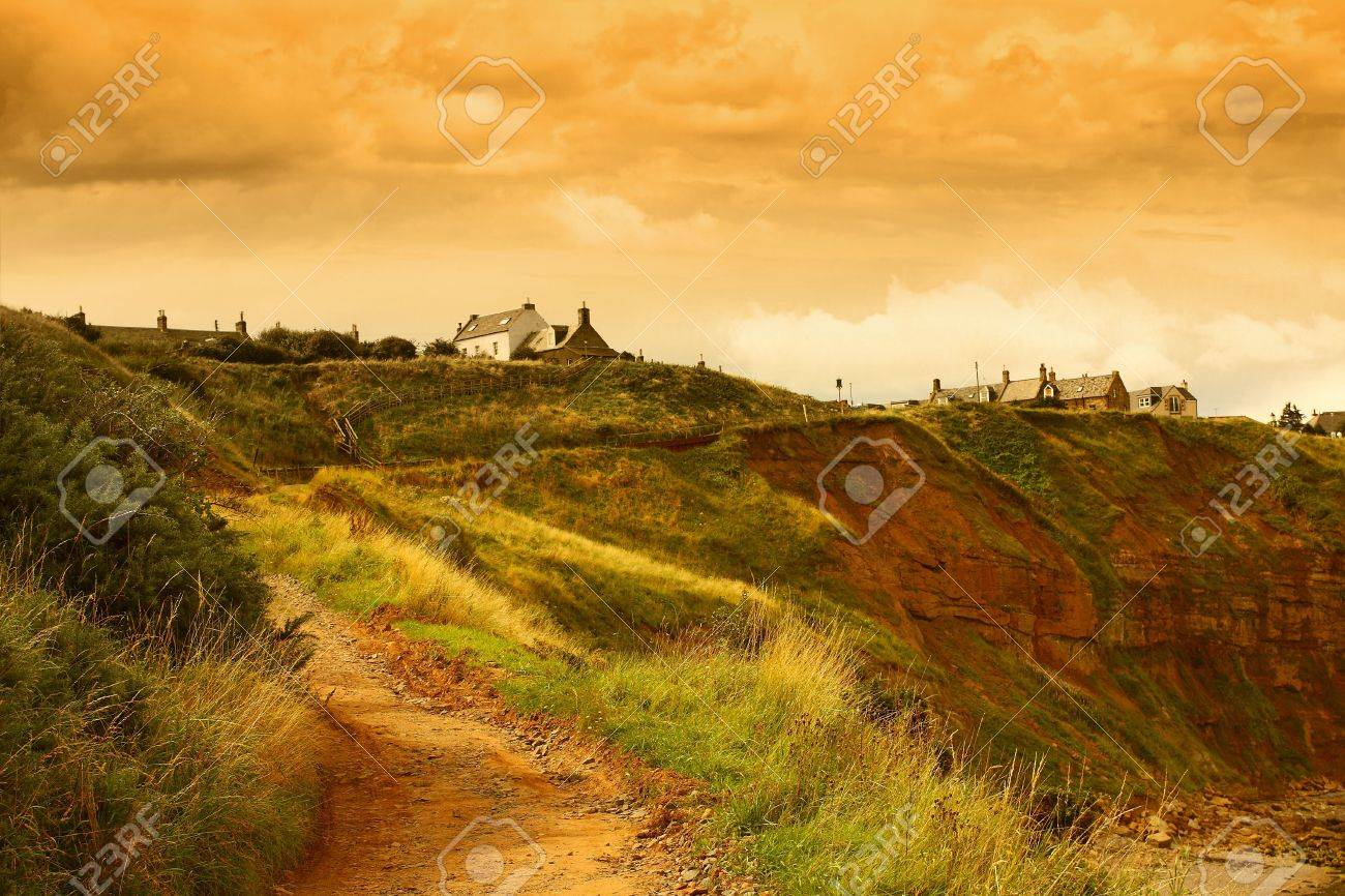 Houses on the hills Stock Photo - 3547195