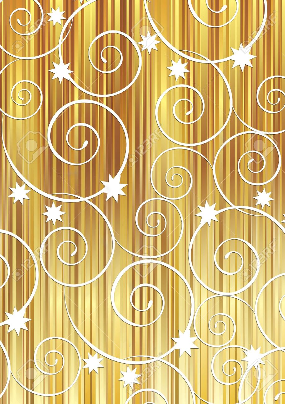Christmas background with white swirls Stock Photo - 8207137