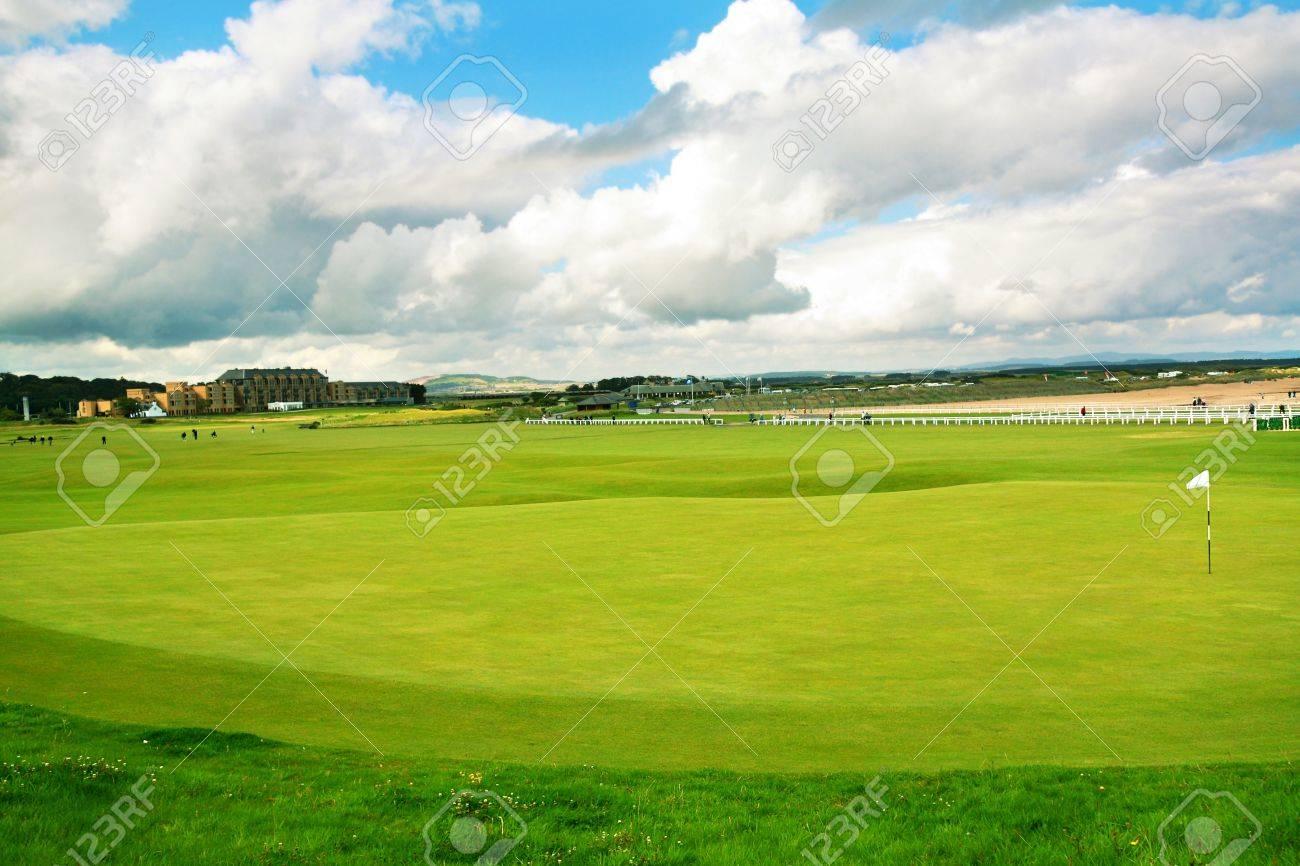 St Andrews, golf course, Scotland Stock Photo - 13717743