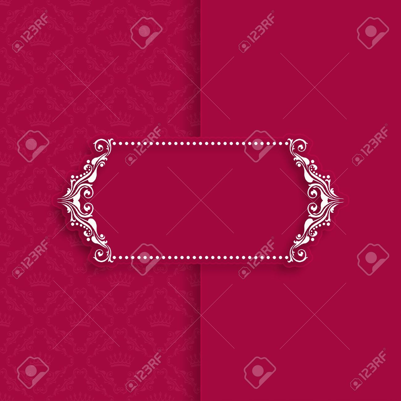 Vector template frame design for greeting card banner invitation vector template frame design for greeting card banner invitation menu cover in stopboris Image collections