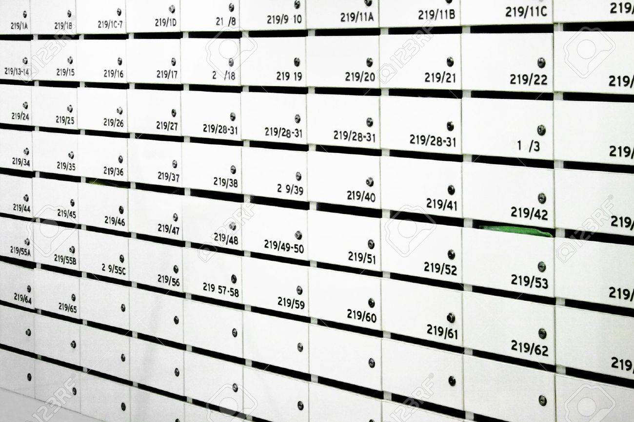 Apartment Mailboxes Stock Photo, Picture And Royalty Free Image ...