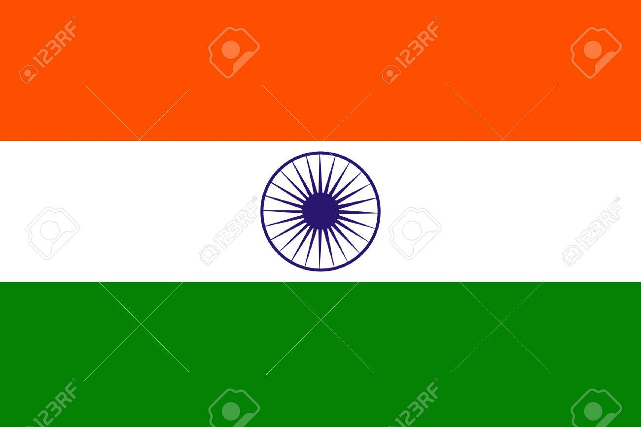 original and simple India flag isolated vector in official colors and Proportion Correctly Stock Vector - 23180085