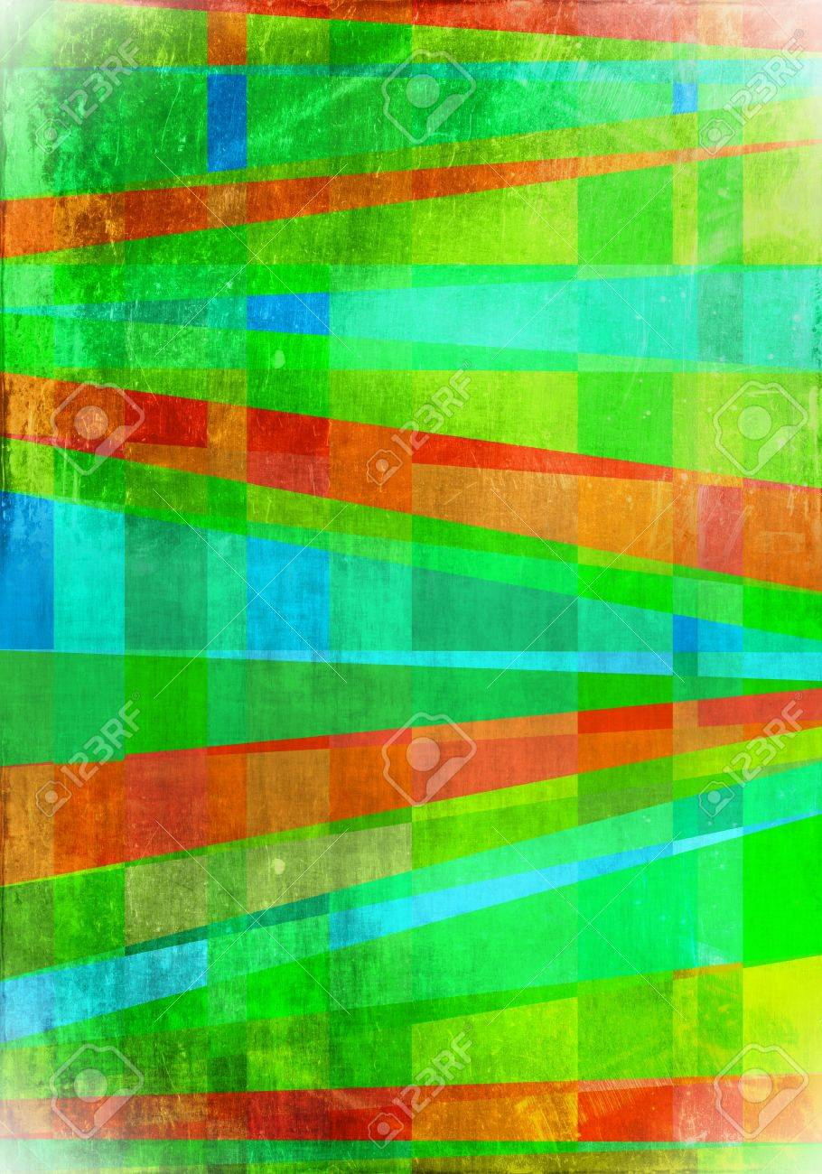 Abstract surrealism artistic green background Stock Photo - 15435960