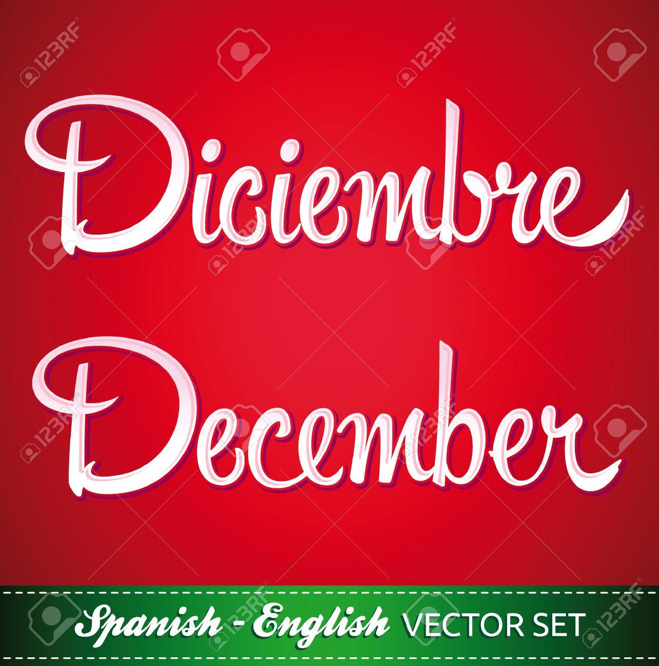 decembre en anglais