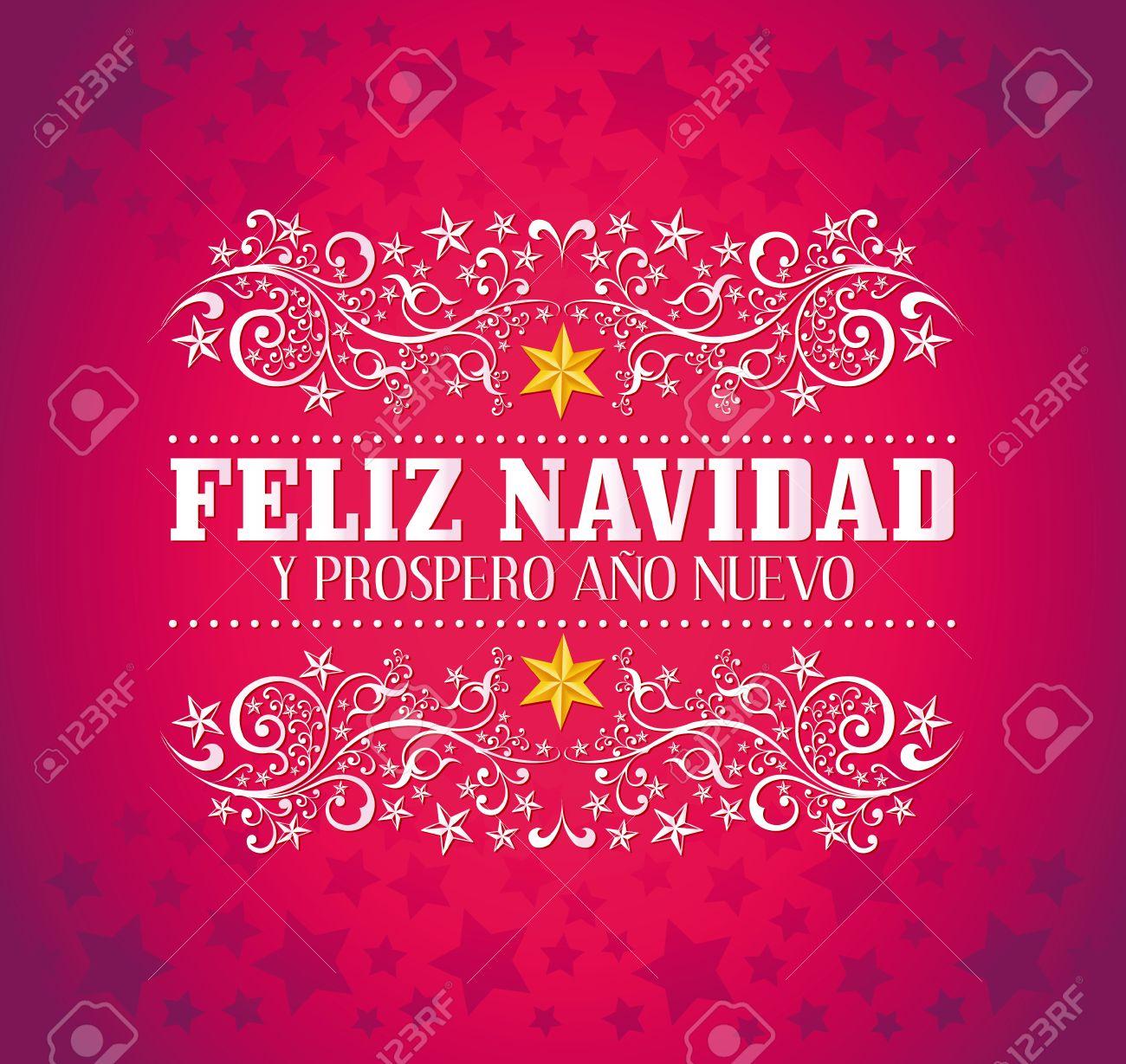 Feliz Navidad Y Prospero Ano Nuevo - Merry Christmas And Happy ...