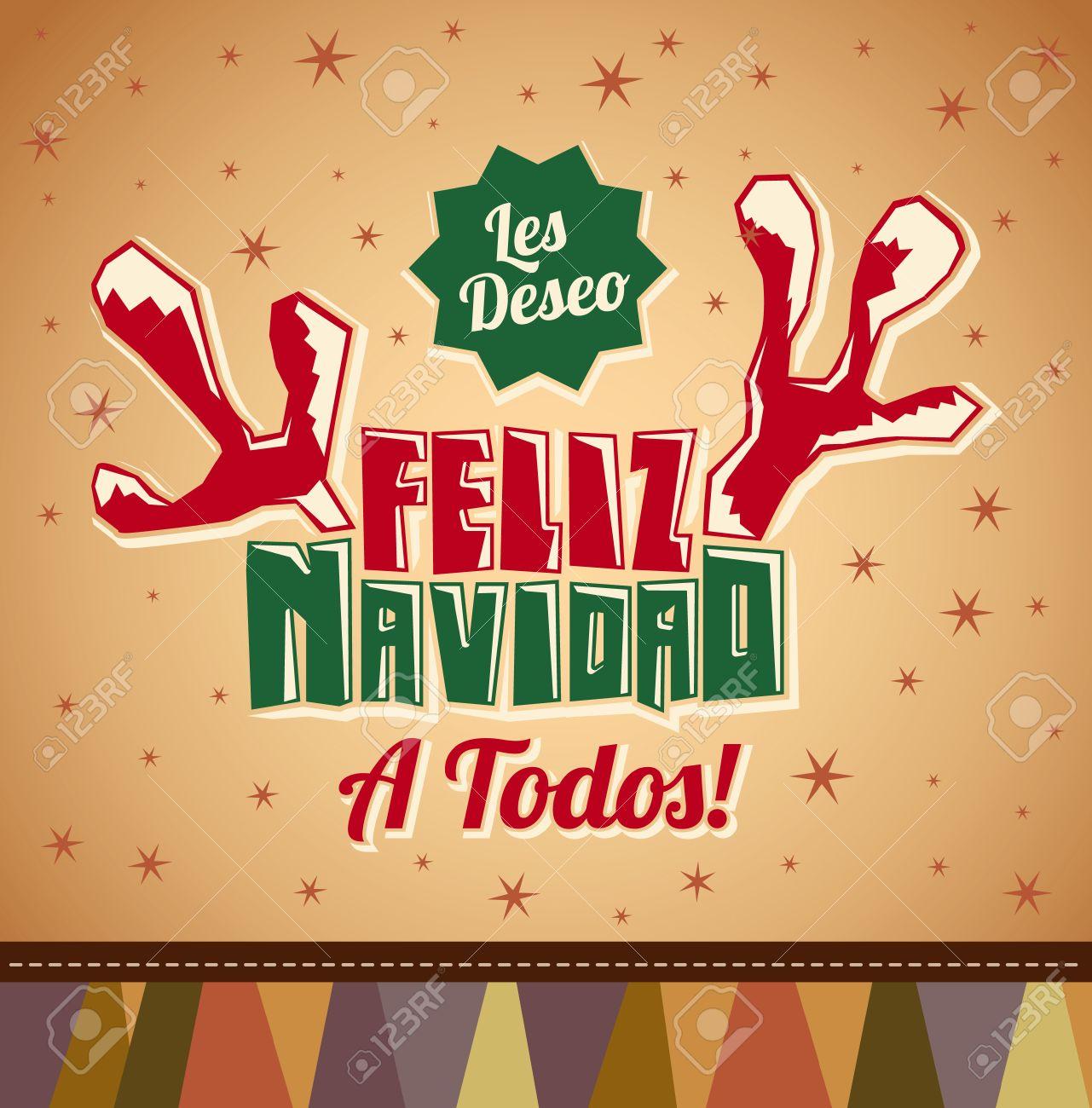 Les Deseo Feliz Navidad A Todos - I Wish Merry Christmas To All ...