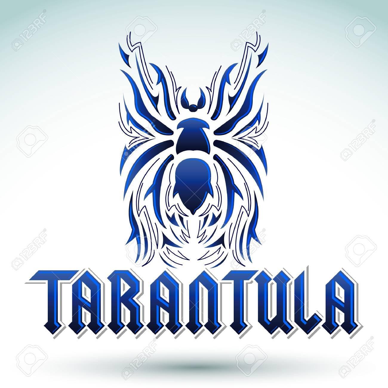 Tarantula Design Tarantula Lettering Design