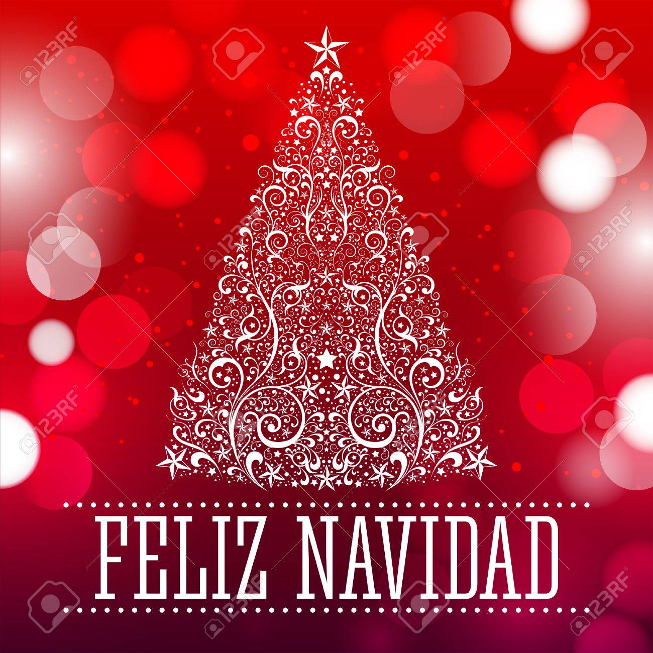 Merry christmas merry christmas card spanish text vector merry christmas merry christmas card spanish text vector fantasy background stock vector 34180485 kristyandbryce Images