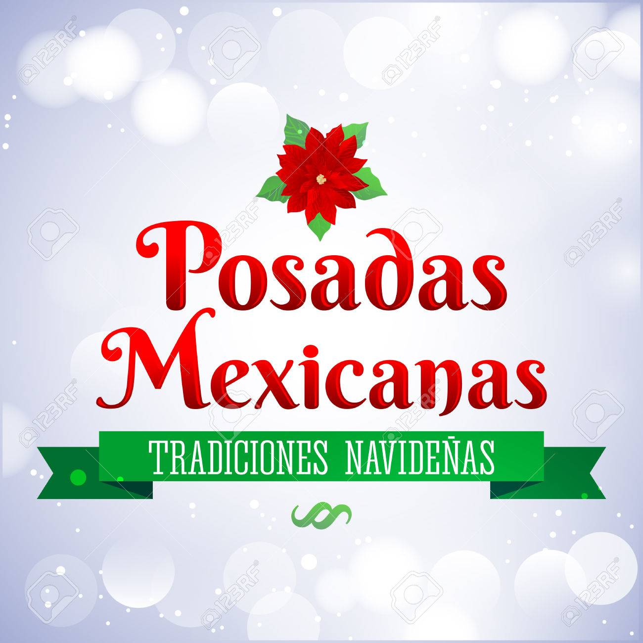 Christmas In Spanish.Posadas Mexicanas Christmas Lodging Spanish Text Posadas