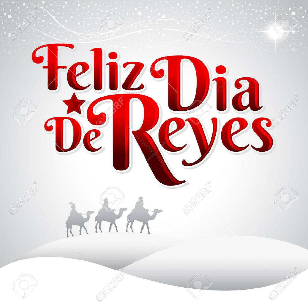 Feliz Dia De Reyes Fotos.Feliz Dia De Reyes Happy Day Of Kings Spanish Text Is A Latin