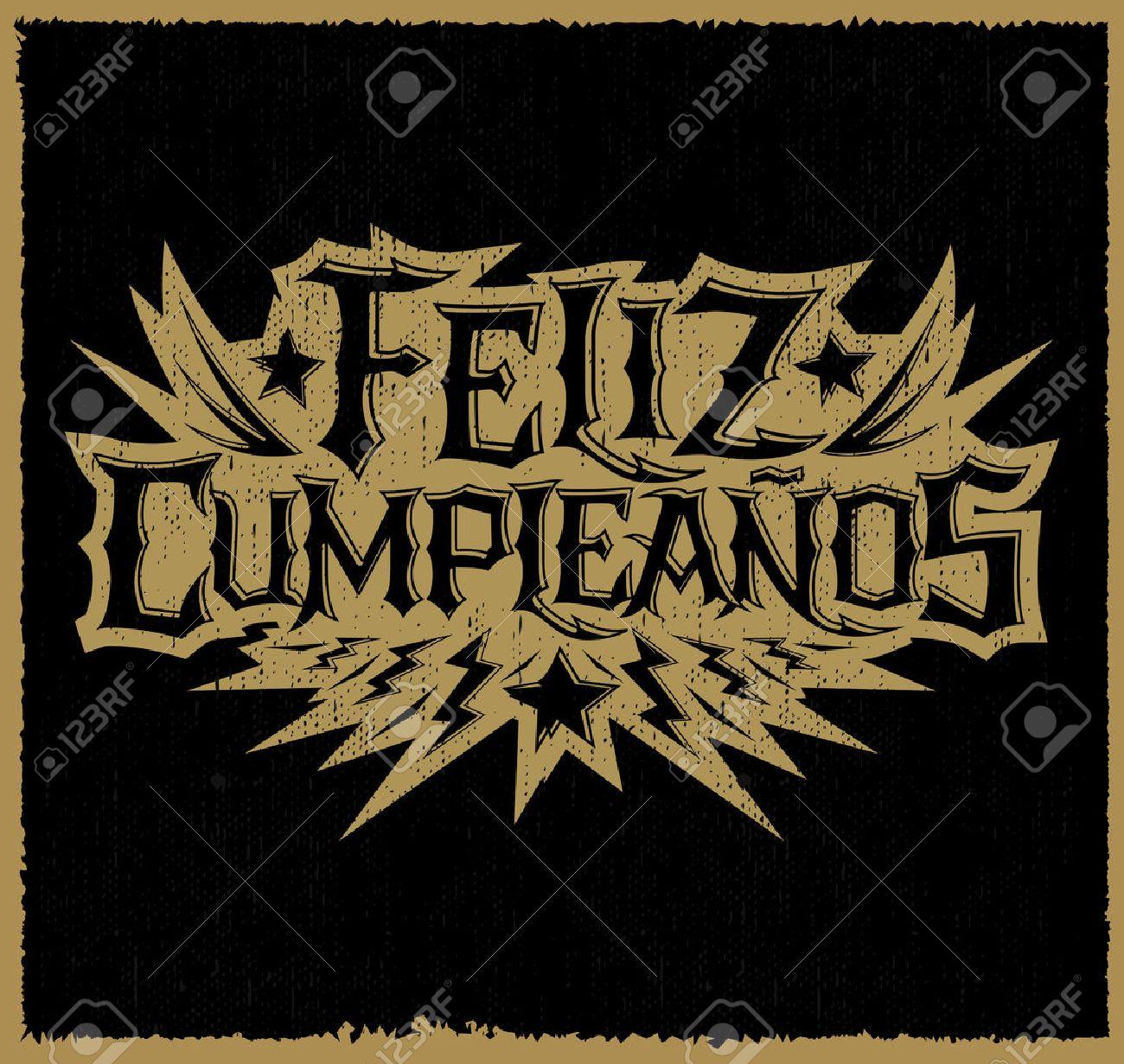 Cumpleanos feliz rockero espanol