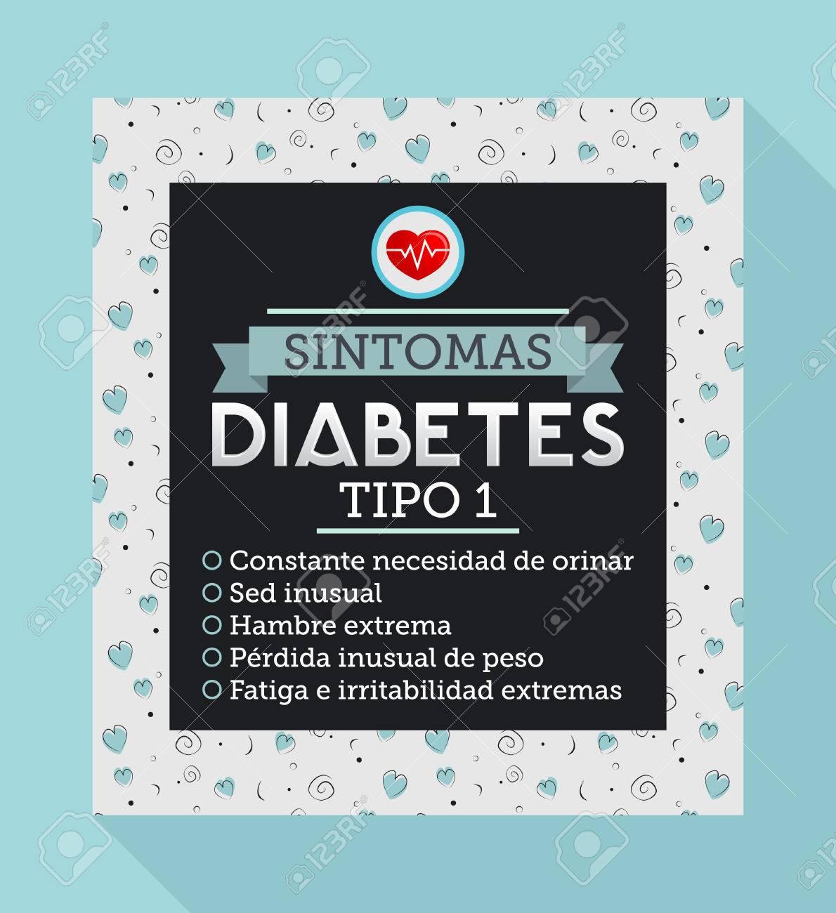 los sintomas de la diabetes tipo 1