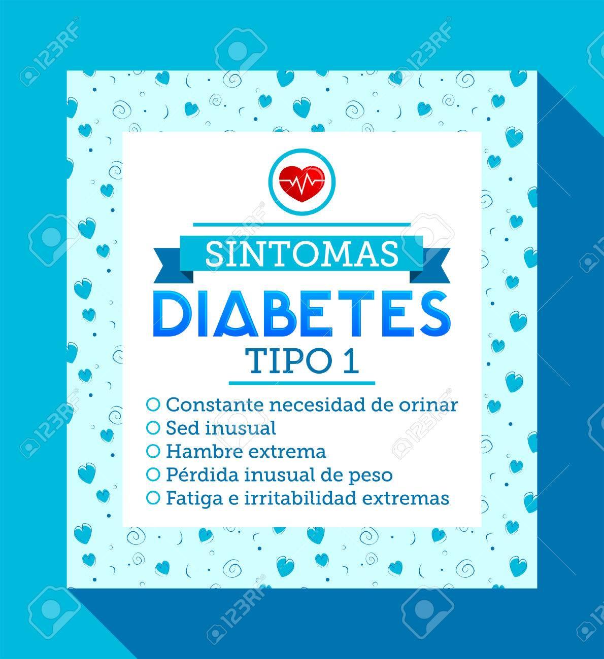sintomatología de la diabetes