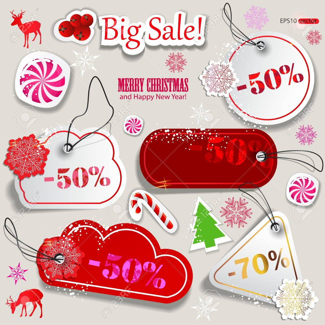 christmas paper discount coupons royalty cliparts christmas paper discount coupons stock vector 11655640