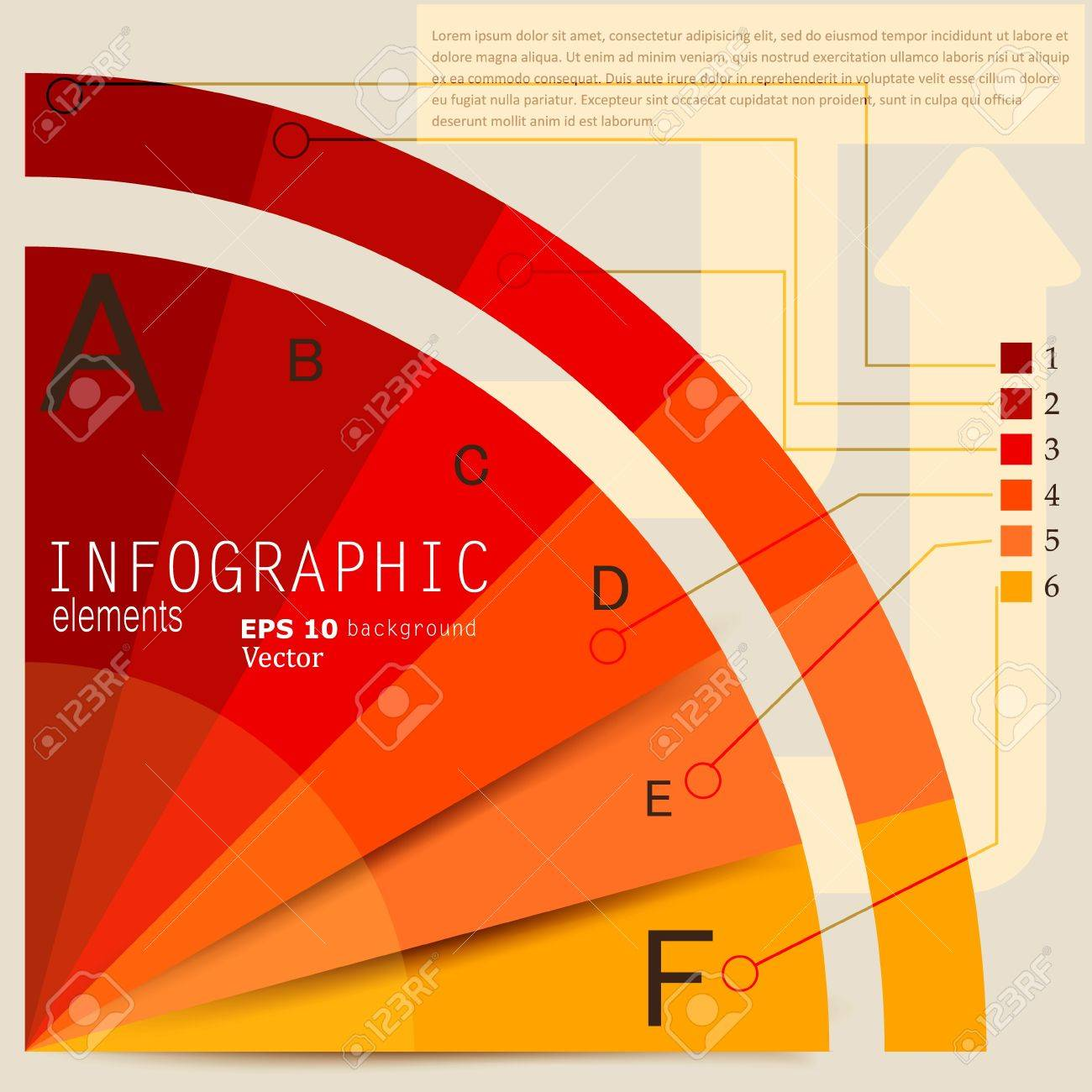 Set of Infographic elements.  Design template. Vector illustration Stock Vector - 17790455