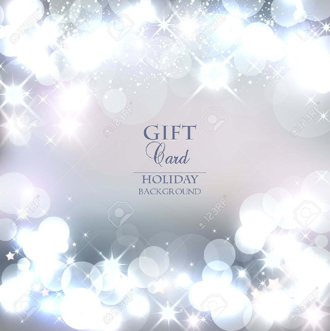 Elegant Christmas background with snowflakes and place for text. Vector Illustration. - 22070540