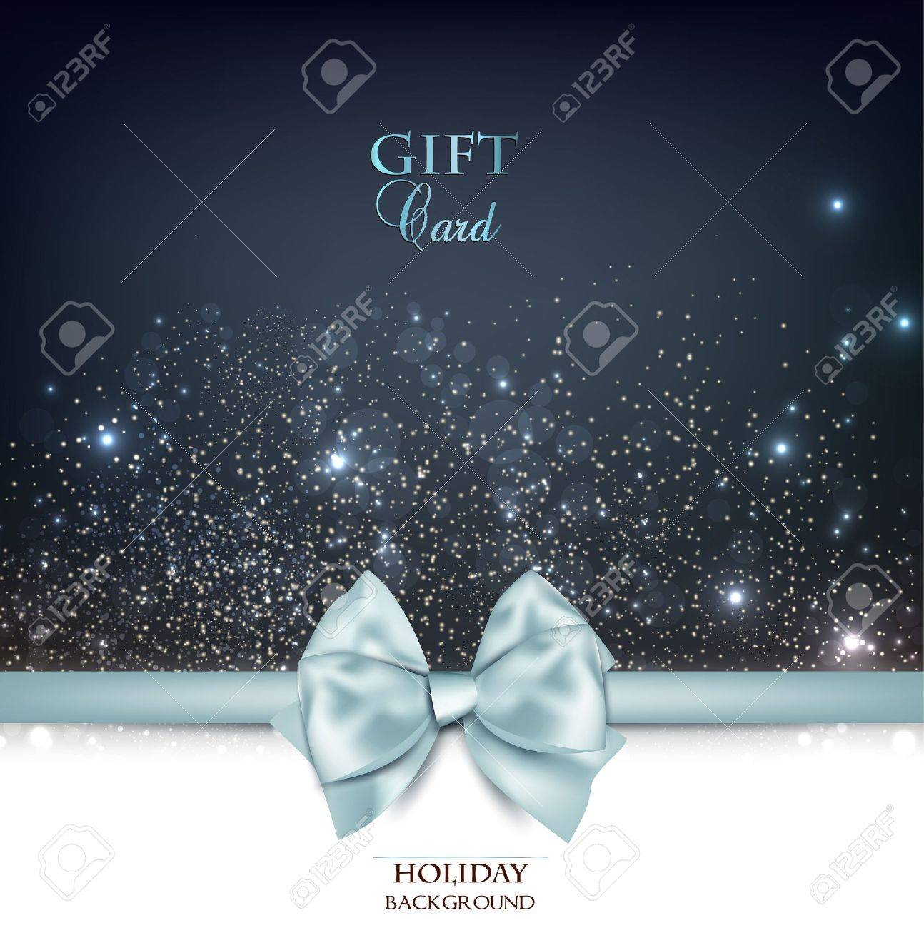 Holiday banner with ribbons. Vector background. - 22070584
