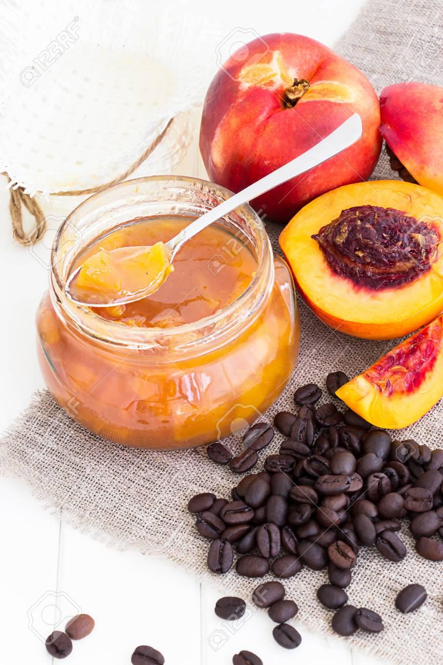 confiture nectarine abricot