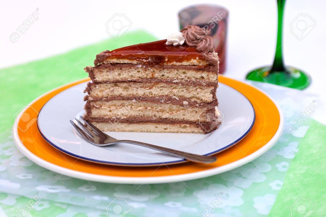 Gâteau au chocolat hongrois