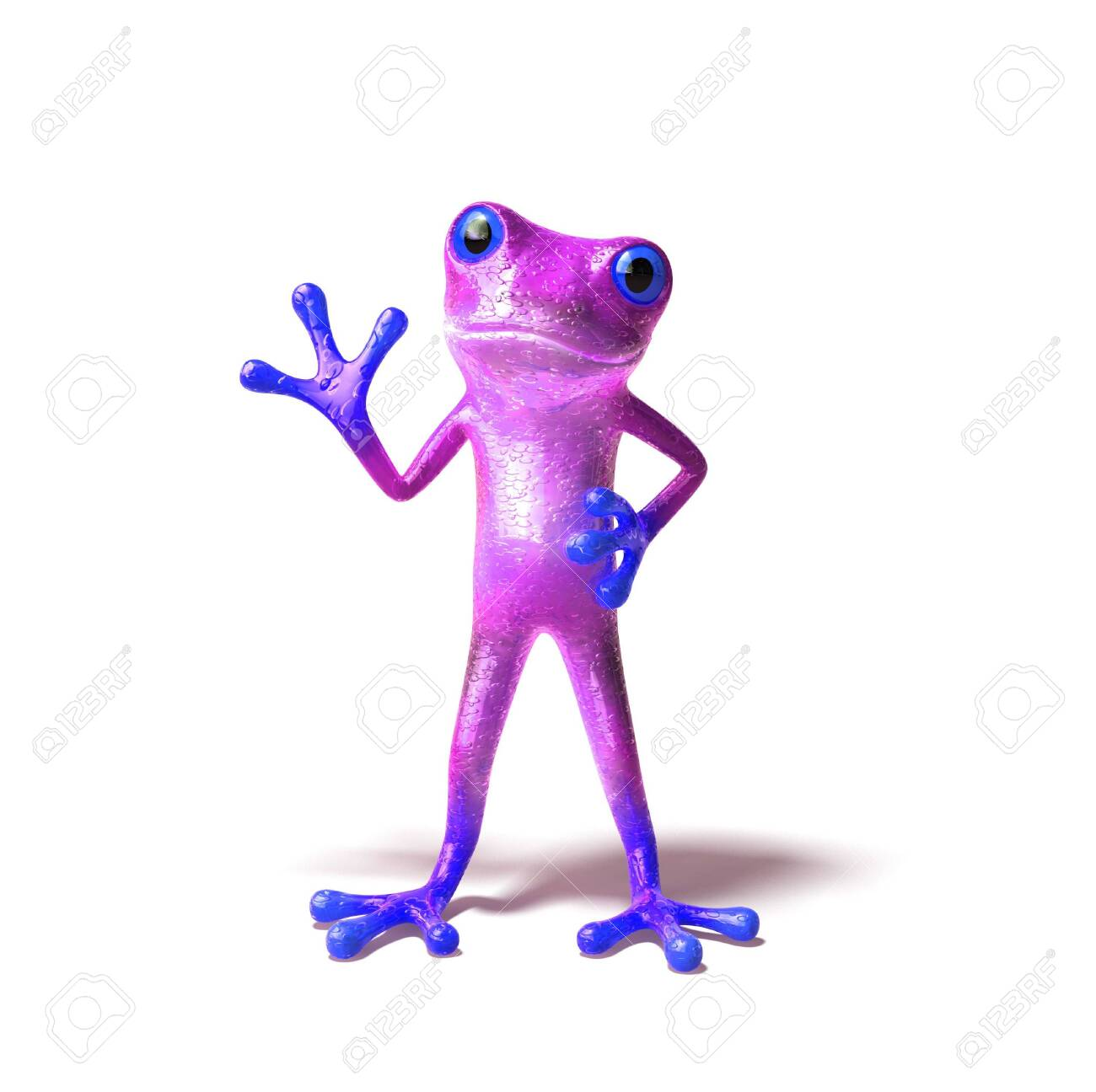 Fun frog Stock Photo - 3972988