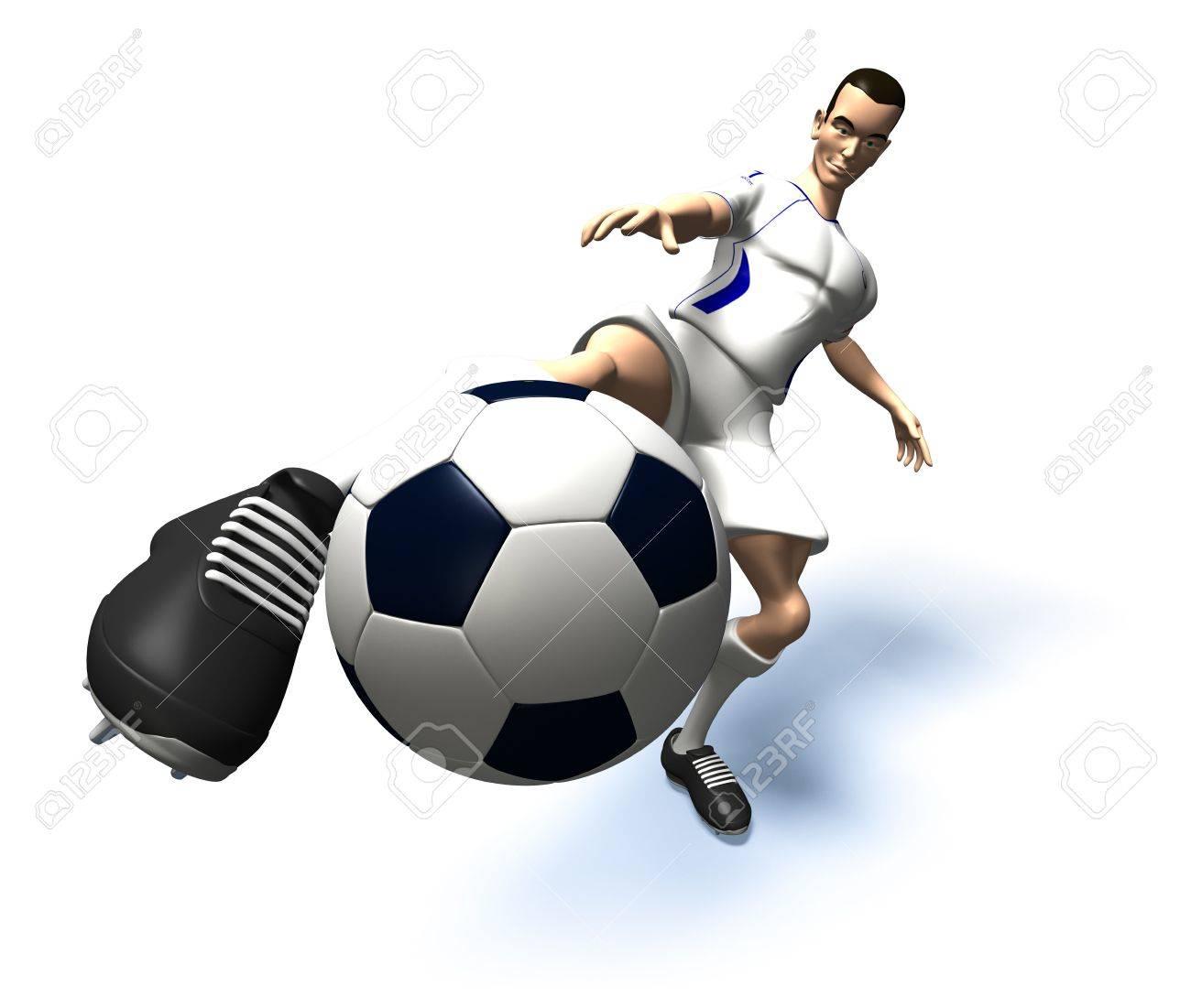 Football player Stock Photo - 3321824