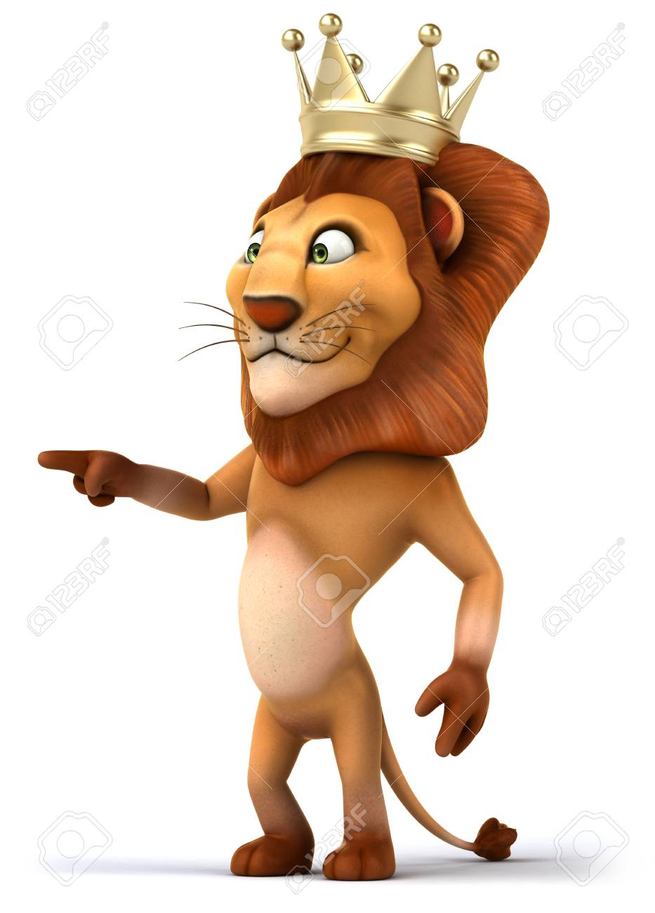 Cartoon Lion King With A Crown Pointing With Fingers Stock Photo Picture And Royalty Free Image Image 79372794 Affordable and search from millions of royalty free images, photos and vectors. cartoon lion king with a crown pointing with fingers