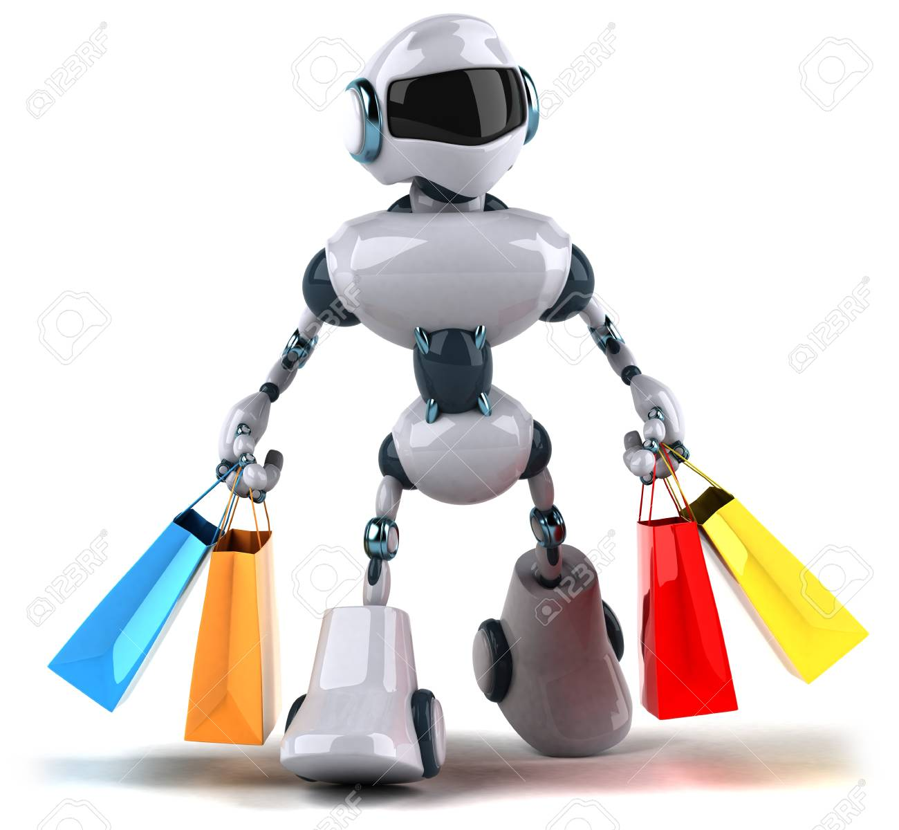 Image result for robot shopping