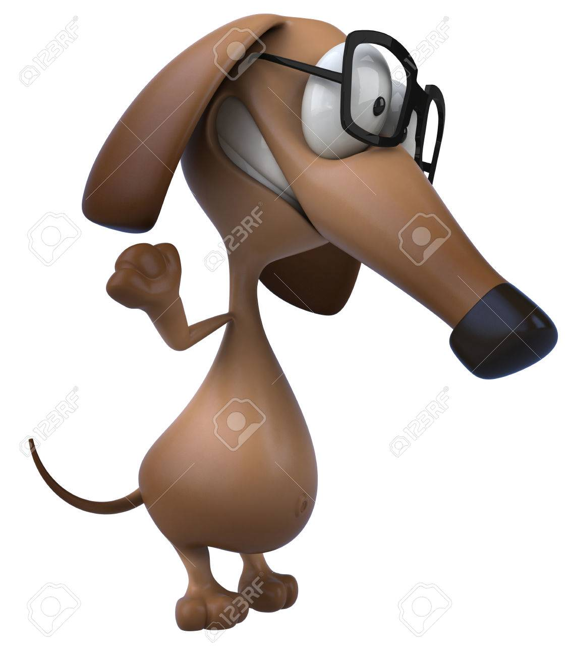 cartoon dog with glasses stock photo picture and royalty free image rh 123rf com cartoon boy and dog with glasses famous cartoon dog with glasses
