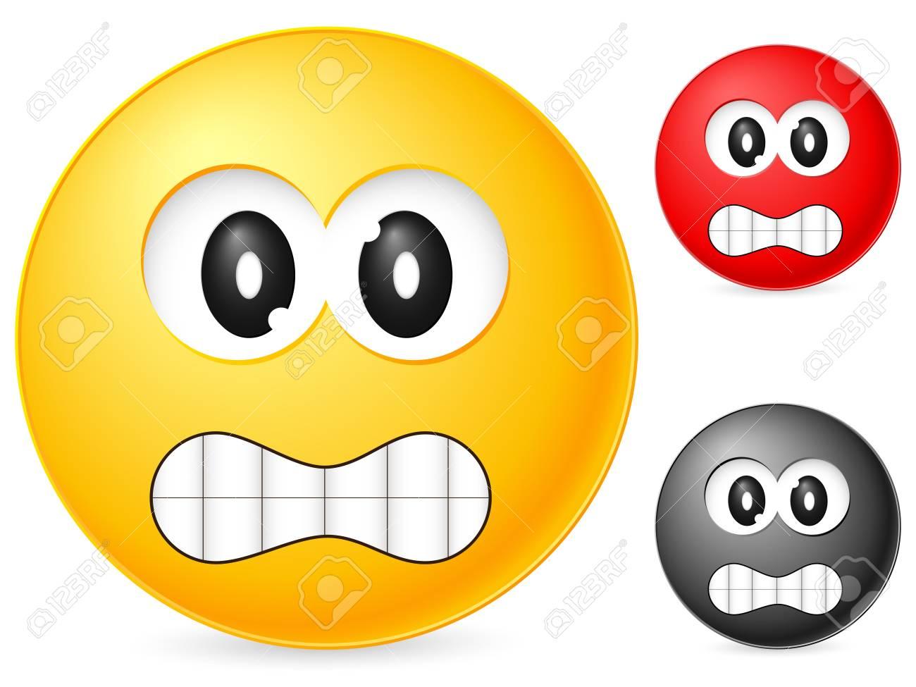 Emoticon isolated on white background. Vector illustration. Stock Illustration - 6231772