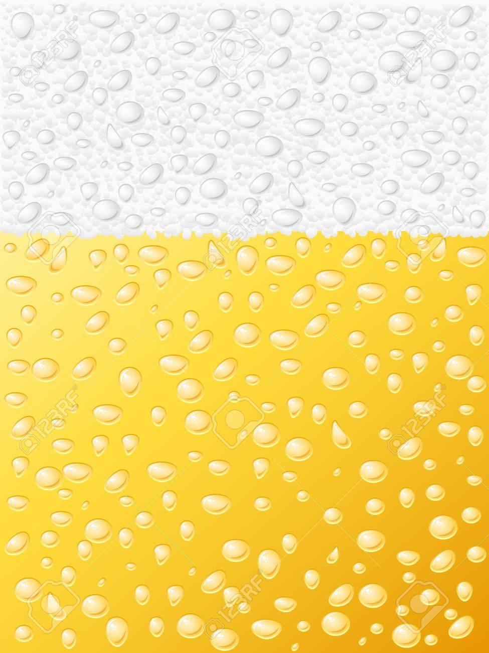Dewy beer texture background.  illustration. Stock Vector - 9293063