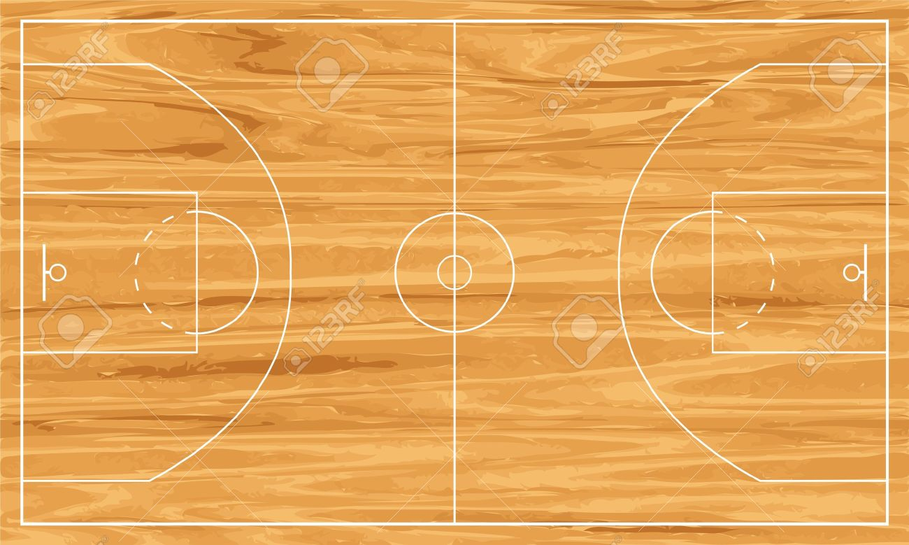 Wooden Basketball Court. Royalty Free Cliparts, Vectors, And Stock ...