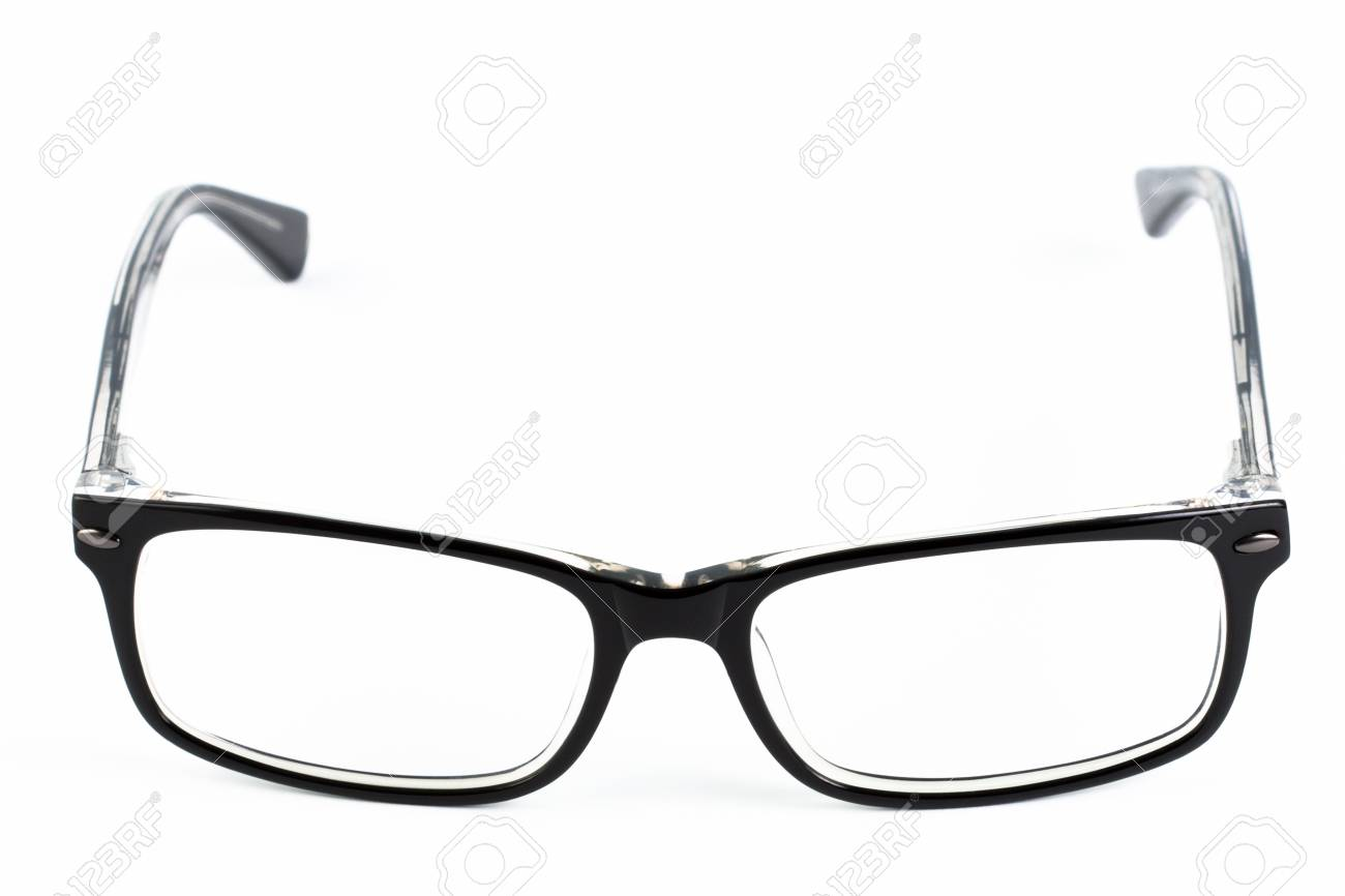 Reading glasses on a white background Stock Photo - 19221448