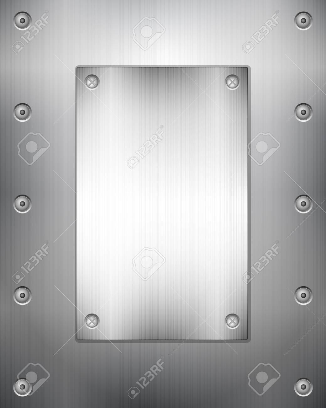 Pattern of metal texture background. Vector illustration. Stock Vector - 22402449