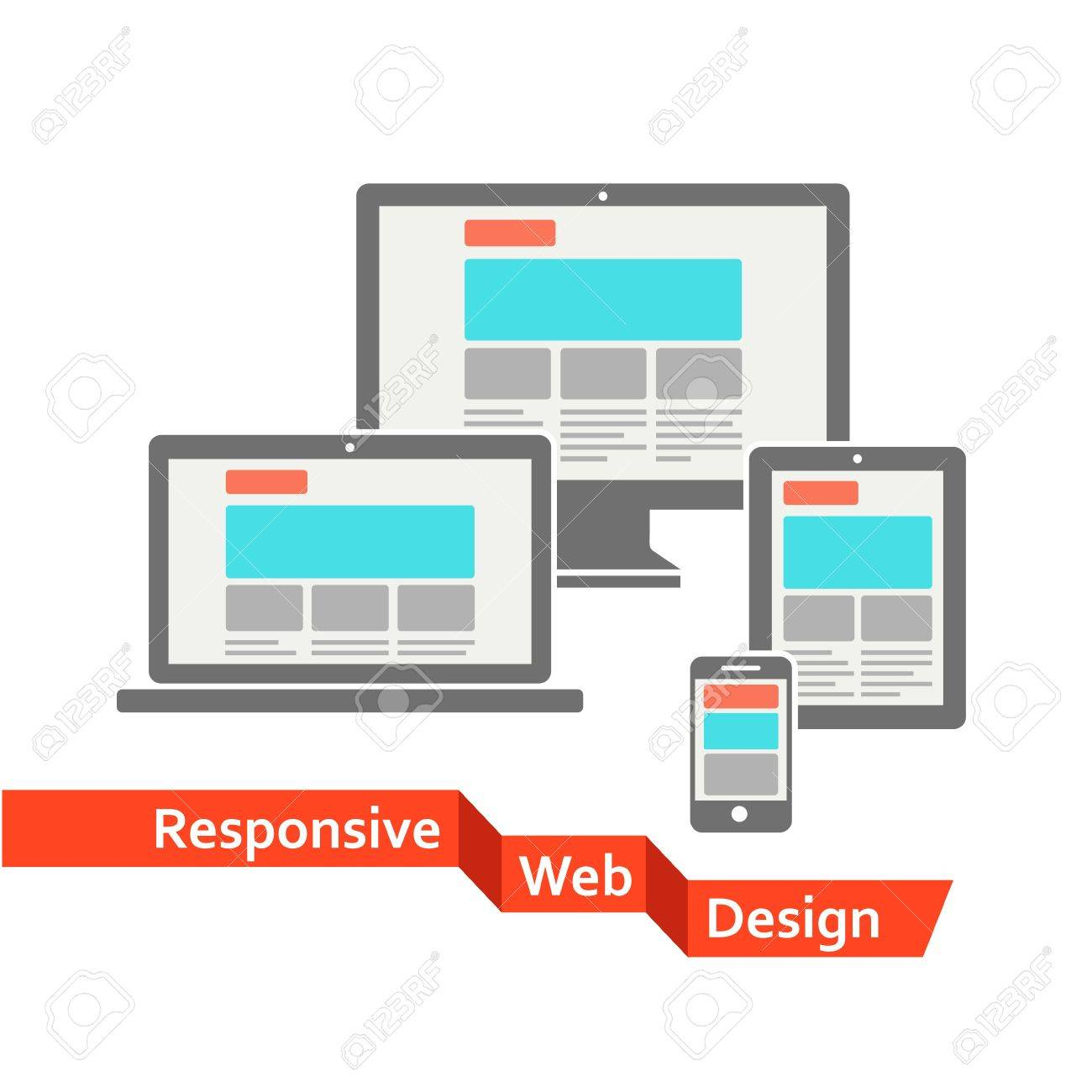 Responsive web design Stock Vector - 20307456