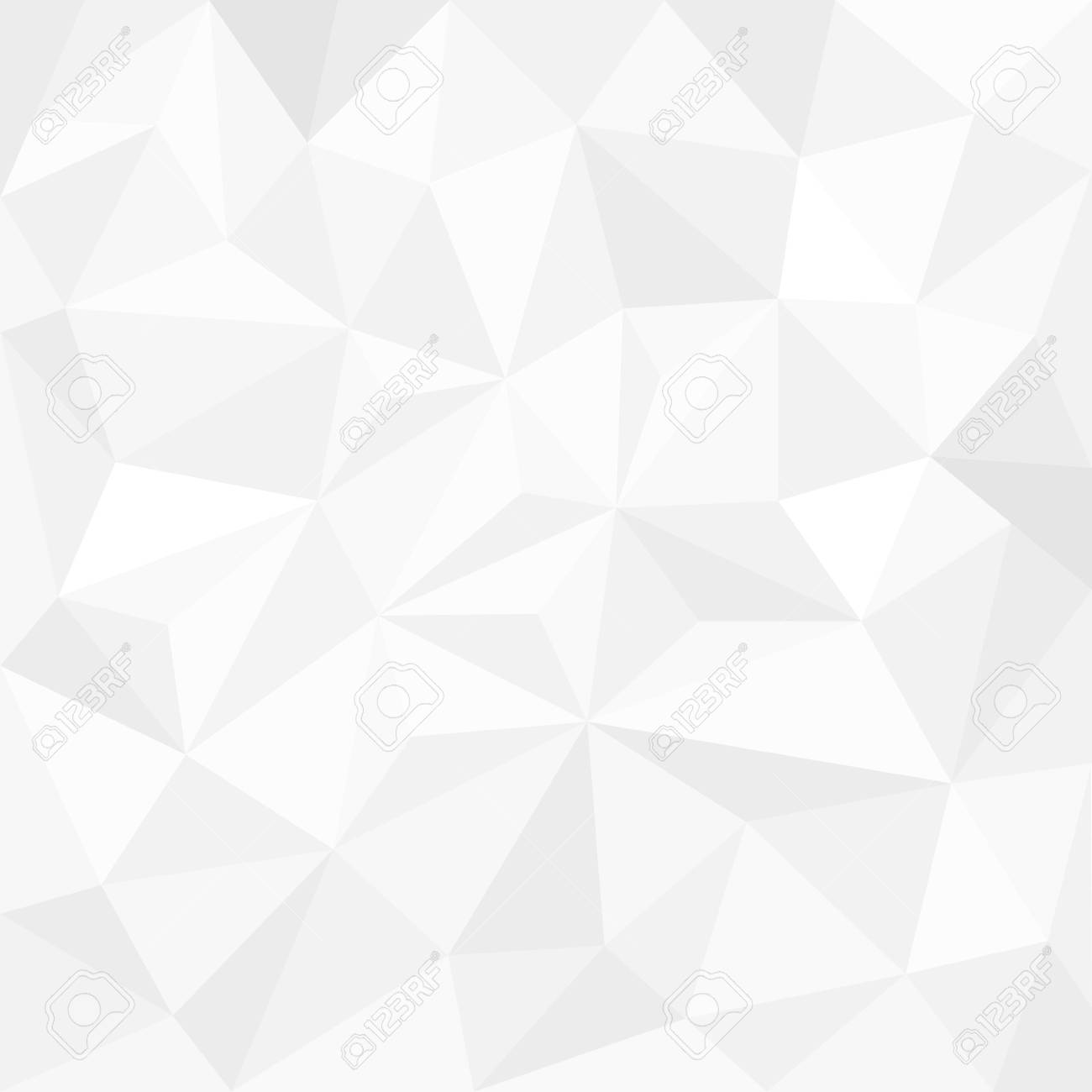 Abstract white background with triangles - 35769843